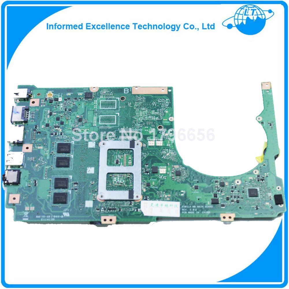 Подробнее о Laptop Motherboard for Asus S301LA with SR170 I3 cpu on board DDR3 mainboard fully tested 100% good work laptop motherboard for asus s301la with sr170 i3 cpu on board ddr3 mainboard fully tested 100