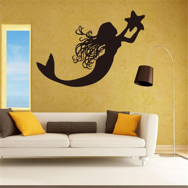 IDFIAF The little mermaid wall stick The sitting room the bedroom ...