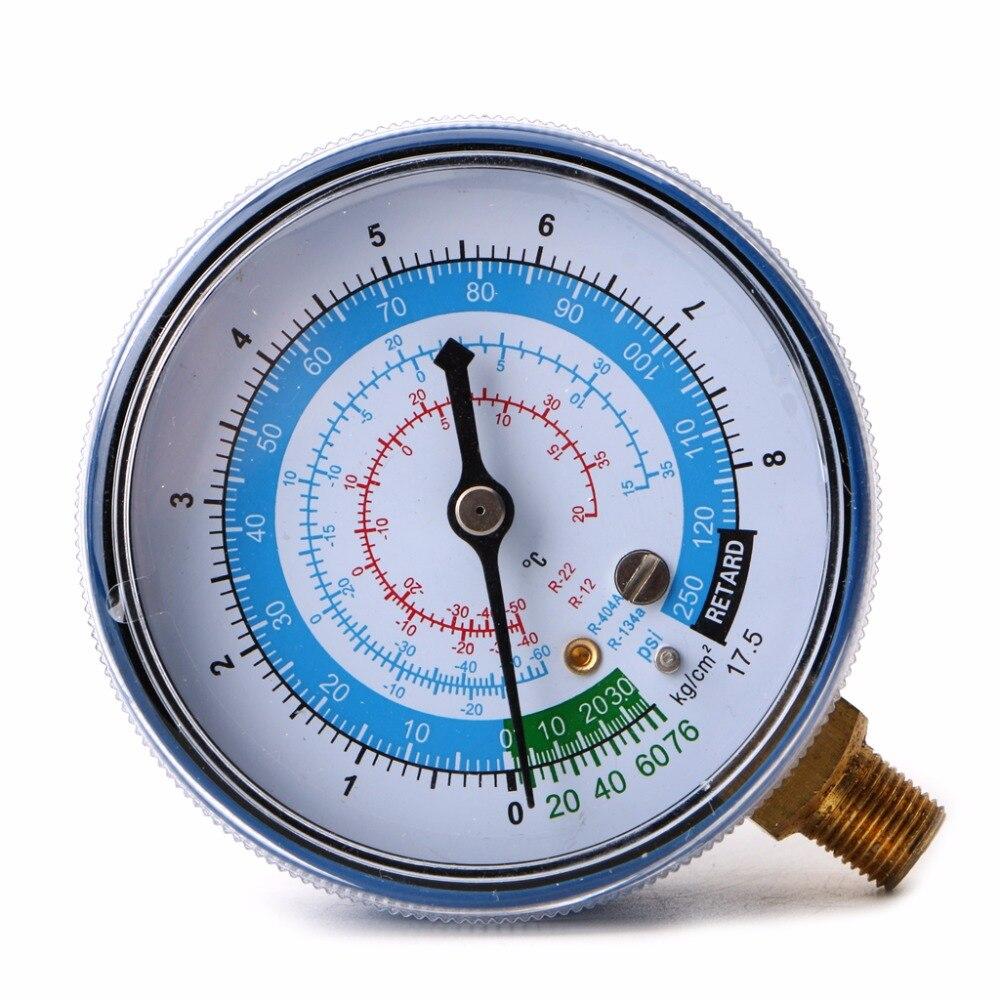 Selbstlos 1 Pc Neue Klimaanlage R404 R134a R22 Kältemittel Niedrigen Manometer Psi Kpa Blau Seien Sie Im Design Neu