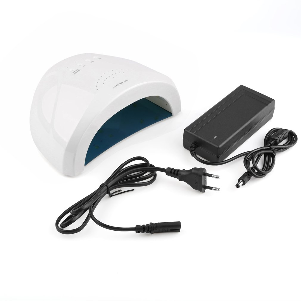 2 in 1 <font><b>UV</b></font> Lamp Nail Polish Dryer <font><b>LED</b></font> Nail Art Machine Nail Lamp 48W <font><b>365nm</b></font>+405nm Drying nail &#038;Toe Gel Curing Manicure Wholesale