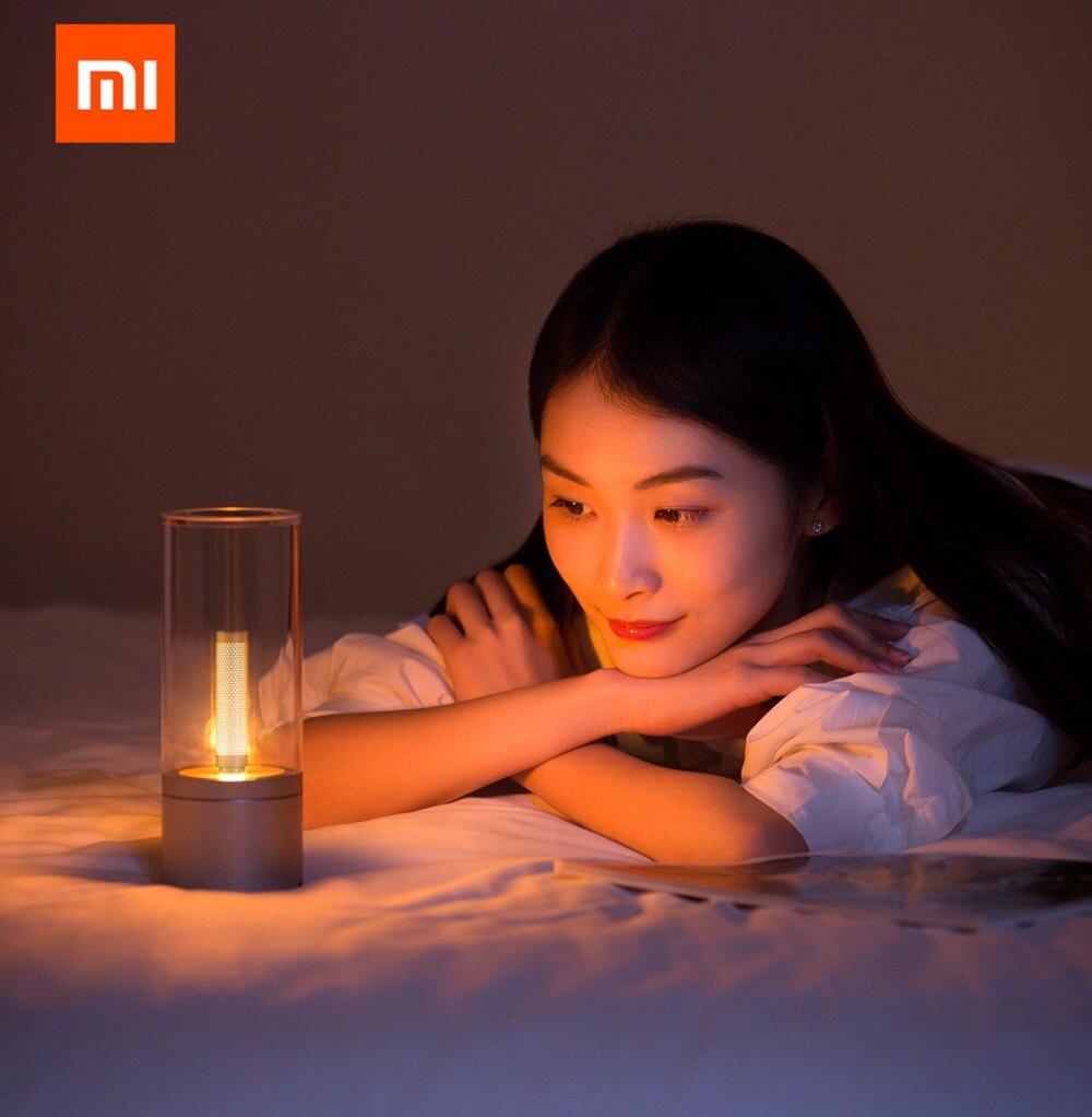 Original xiaomi mi jia Yeelight Candela Led de noche, la luz de la vela del humor inteligente, para la aplicación de xiaomi mi home - 5