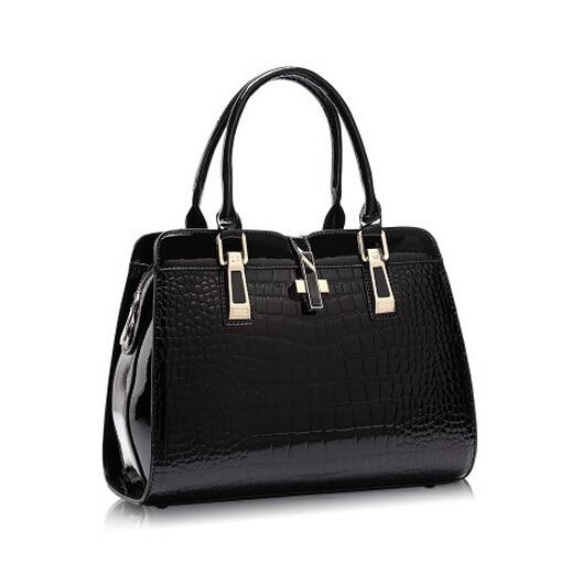 7 Color Women PU Leather Handbags PU Handbag Leather Women Bag Patent Handbag Travel Bags
