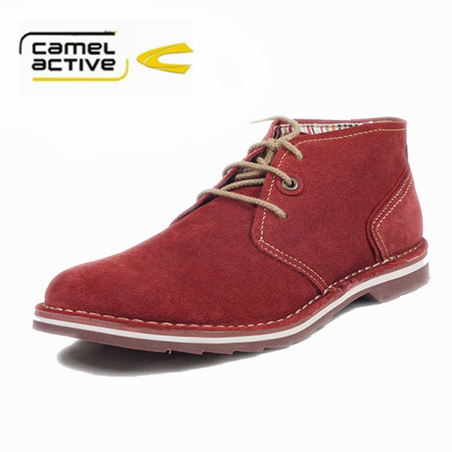 Camel Active shoes tooling head Martin shoes in new men's leather High  quality casual shoes .