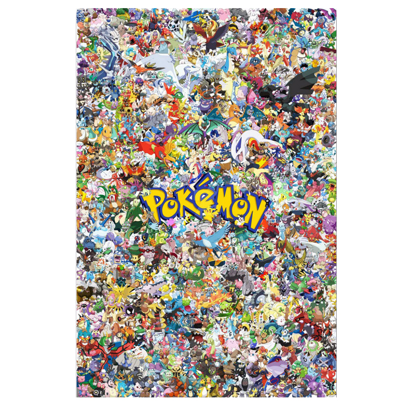 Diamant borduurwerk 5D DIY Diamond Painting Cartoon Pokemon Diamond - Kunsten, ambachten en naaien