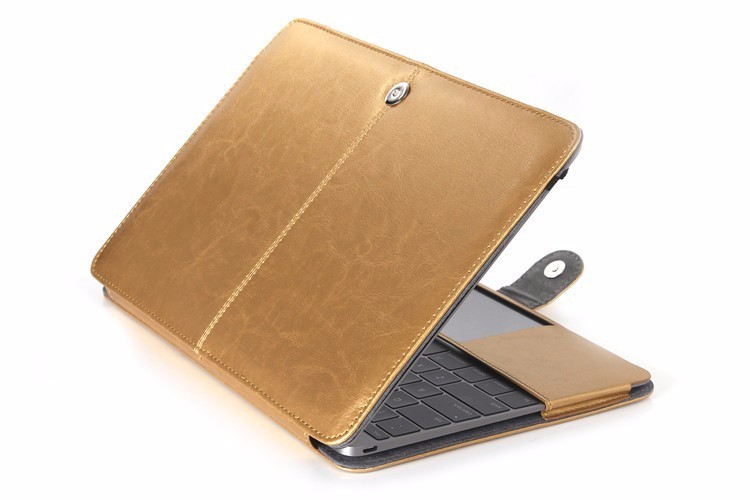PU leather Notebook Case for MacBook 97
