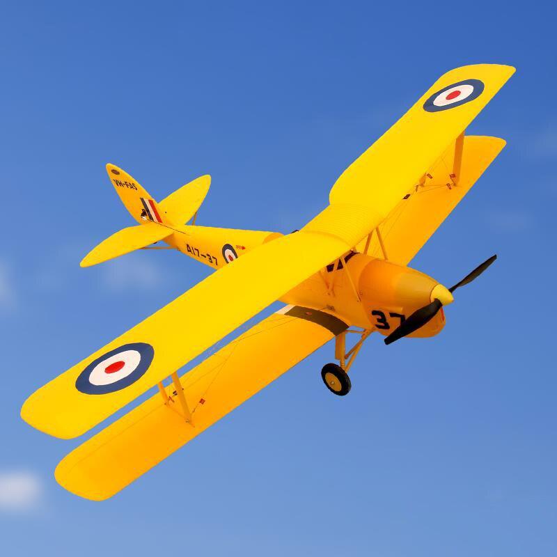 Dynam 1270mm Tiger Moth RC PNP Avion à Hélice W/Moteur ESC Servos Sans Batterie