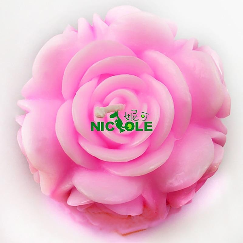 Molde de silicona Nicole para la vela de jabón hecha a mano que hace - Cocina, comedor y bar - foto 3
