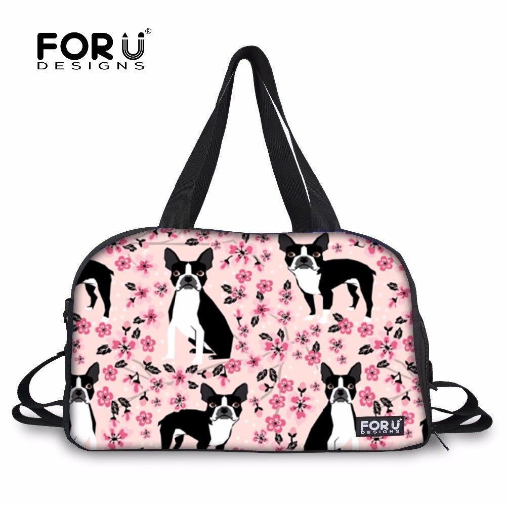 bf6297792e92 Forudesigns bag athletic bag cute boston terrier print sport bag jpg  1000x1000 Cute yoga bags