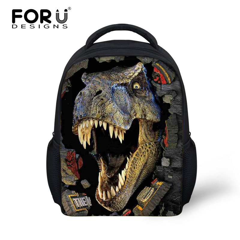 2016 Fashion Children Animal Printing Backpack Cool Dinosaur School Bags Toddler Baby Boys Kindergarten Bagpack Kids Mochila - FORUDESIGNS Stylish Apparel Store store