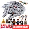 2017 LEPIN 05132 7541Pcs Star Series Wars Ultimate Collector S Model Destroyer Building Blocks Bricks Toys
