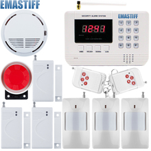 Best price Promotion English User manual GSM PSTN Alarm system Home security Alarm system Free shipping(China)
