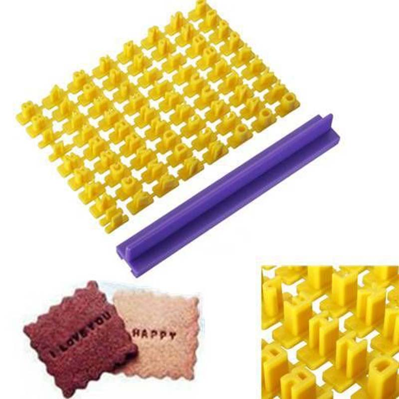 letter soap molds