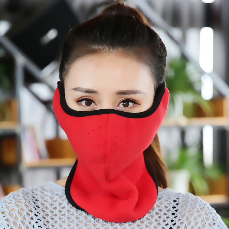 New Women's Winter Fleece Warm Mask Fashion Windproof Dustproof  New Type Masks All-Pack Ear Mask For Men