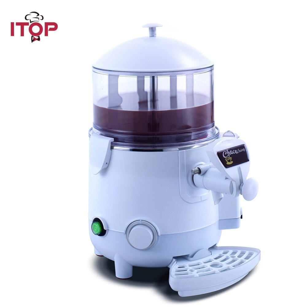 ITOP 5L/10L hot chocolate cooker dispenser,hot beverage/drinking machine,gourmet chocolate shot 110V 220V 240V цена