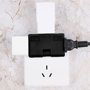 Image 5 - US Adapter One In Three Converter 180 Degree Rotation Extension Plug Wireless Outlet Travel Adaptor Light Socket In Japan Canada
