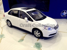 * Rare White 1:18 Dongfeng Nissan VENUCIA D50 Sedan Metal Model Car Gifts Model Car Kits Simulation Model