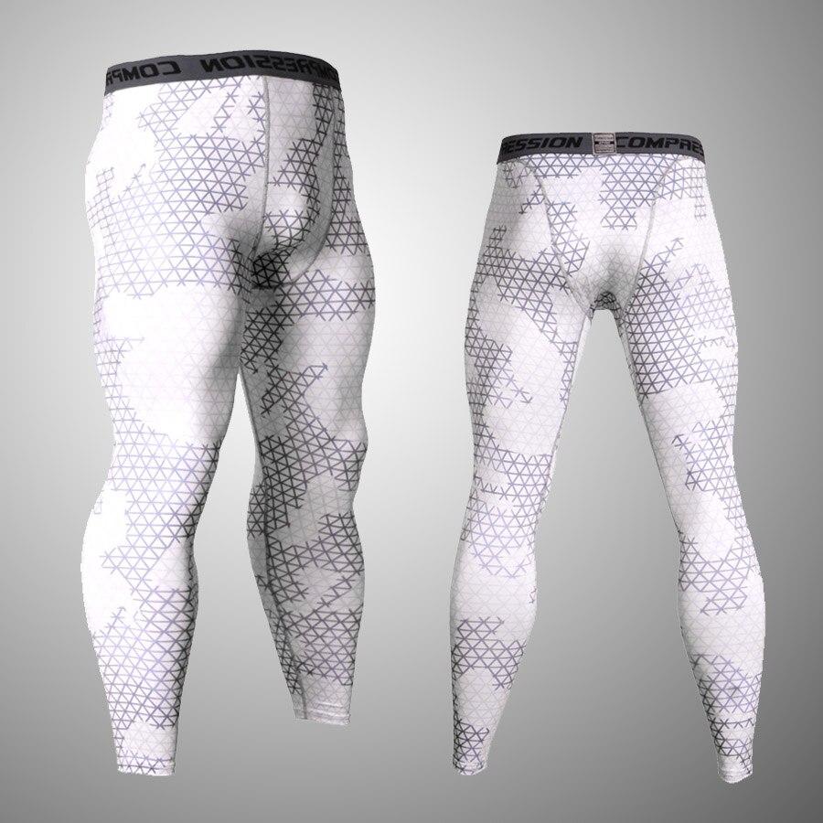 men leggings fitness compression pants camouflage tracksuit men base layer MMA tactical Clothing crossfit pants leggings men