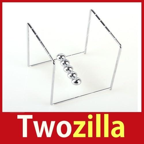 twozilla ] новое Newton Cole баланс доли физика классический наука мини веселье стол игрушки # 04 горячая