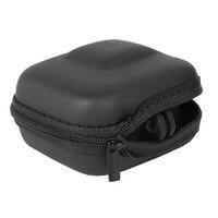 Мини EVA чехол Защитная сумка для GoPro Hero 8 7 6 5 черный серебристый белый Спортивная камера ПУ коробка для хранения Dji Osmo аксессуары для действий 4