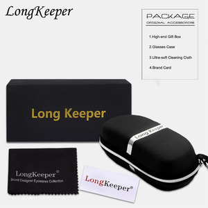 LongKeeper новый фирменный дизайн, коробка для солнцезащитных очков, сумка-футляр для очков, тканевая коробка для солнцезащитных очков, комплект...