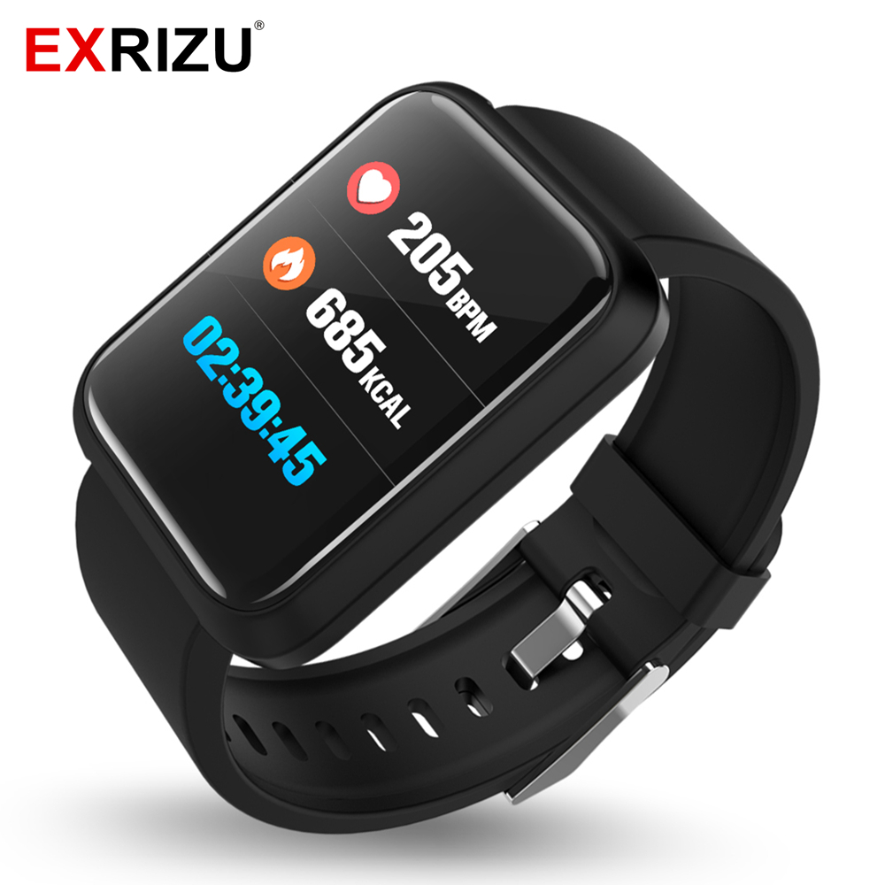 Bluetooth, EXRIZU, Smart, SPORT, Monitor, Watch