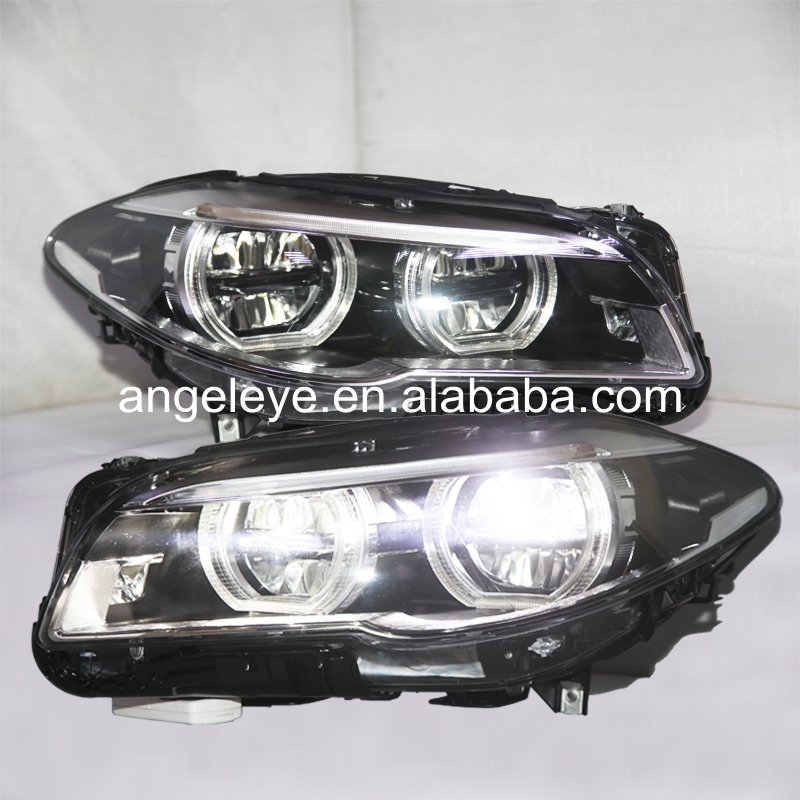 For BMW F10 F18 520 525 530 535i LED Headlights 2011 2015