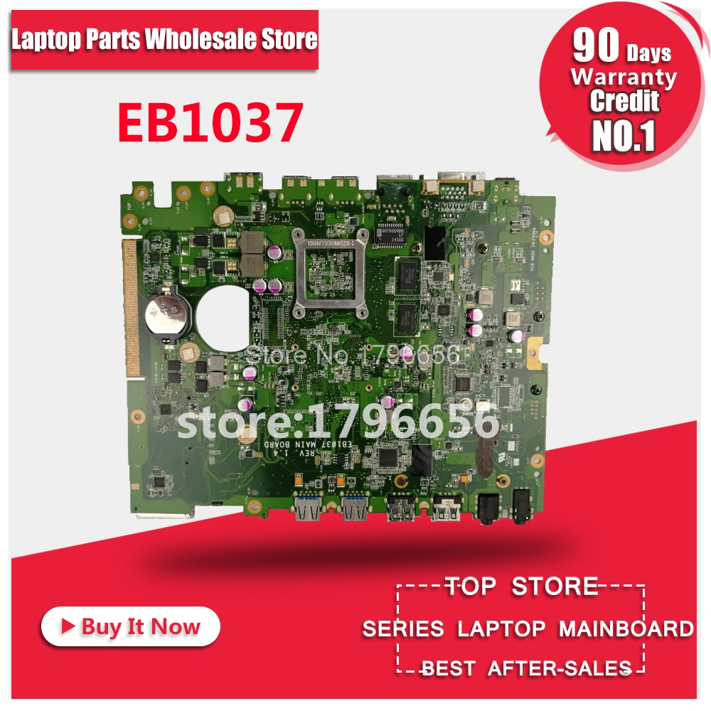 EB1037 J1900 motherboard for asus EB103 EB1037 Laptop motherboard system board main board mainboard Card Logic board used for toshiba 281c 351c 451c copier motherboard logic board interface board lgc board