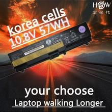 HSW  LAPTOP battery 10.8V 57WH FOR Lenovo ThinkPad E40 L512 T410 E50 E420 L520 E425 SL410 T420 E520 T510 E525 bateria