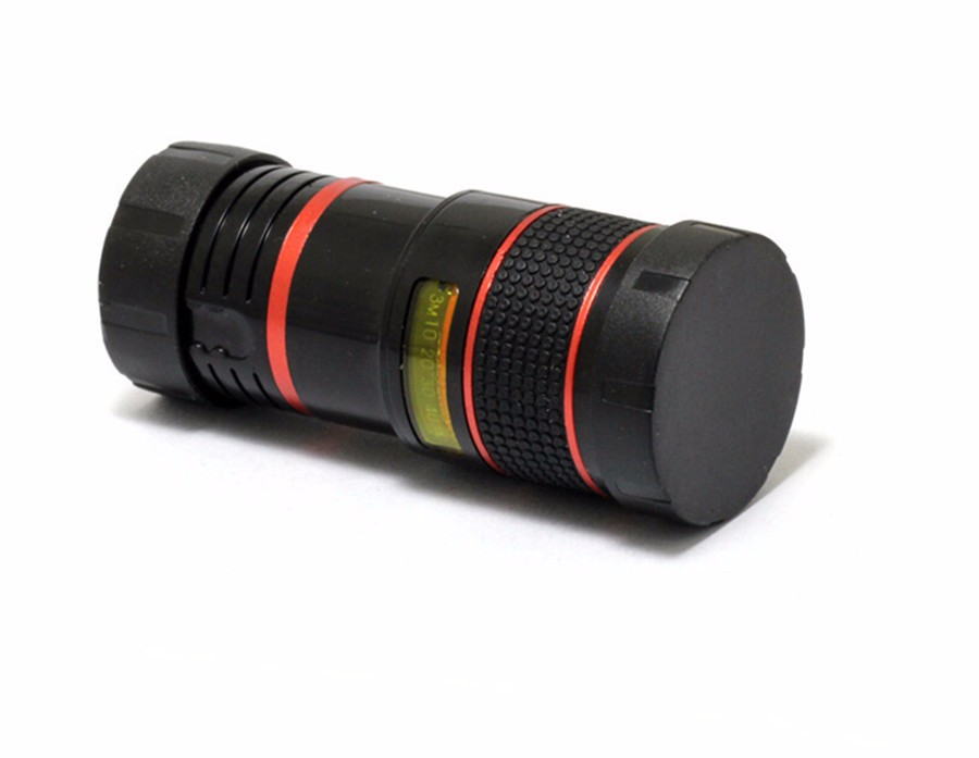 YIFUTE Lenses Universal Clip 8X Zoom Telephoto Lens HD Mobile Phone Camera Lenses For Apple iPhone 5 Samsung Xiaomi Redmi Huawei 8