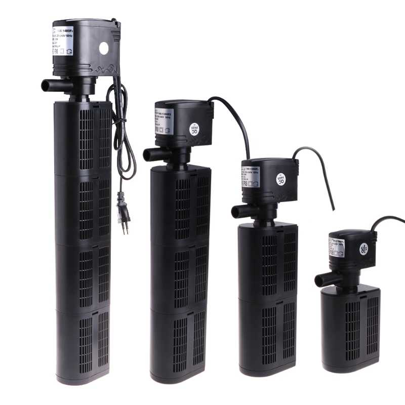 EU Plug Submersible Filter Pump Water Internal For Aquarium Fish Tank Pond 12/18/25/35W