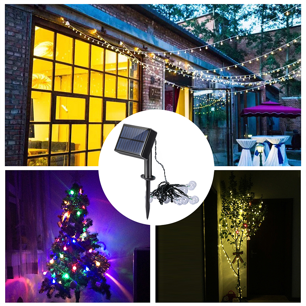 Lights & Lighting Battery 6m 60led Cherry Flower Shaped Led String Lights Outdoor Christmas Holiday Wedding Party Decorative Lights With Remote
