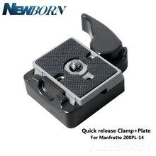 Kamera Zubehör 323 Quick Release Clamp Adapter Release Platte Kompatibel für kamera stativ mit Manfrotto 200PL 14 Platte