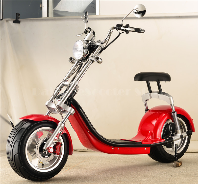 Daibot Electric Scooter Motorcycle Two Wheels Self Balancing Scooters 1000W Big Tire Harley