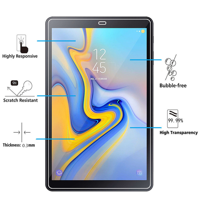 2pcs Tablet Tempered Glass For Samsung Galaxy Tab A 10 5 2018 Screen Protector Tab A2