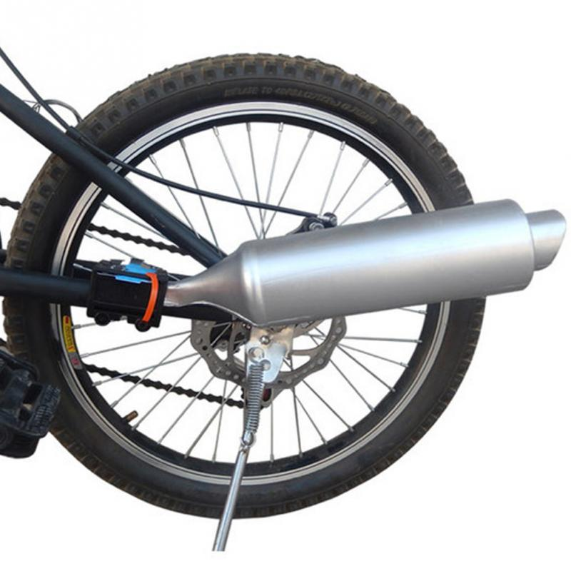 NEW ARRIVE Motorcycle Installation Spoke Turbo Exhaust Pipe Bicycle Accessories System 35 X 7.5 Cm