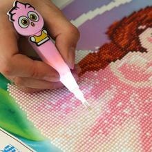 5D DIY Needlework Pen Diamant Diamond Painting Full Square Drill Embroidery Cross Stitch Home Decoration Ornament Accessories