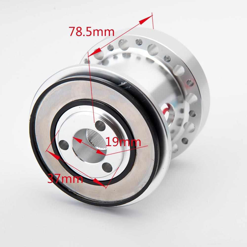 Adaptador de cubo de volante de coche Ladieshow conector de 6 agujeros para Mitsubishi Eclipse//Galant//Lancer//Montero