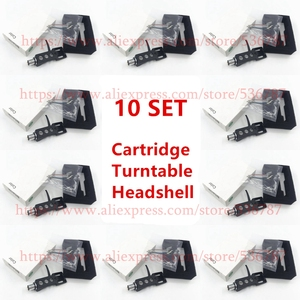 Image 1 - good quality 10 SETS/lot Turntable Headshell 4 Pin Contacts  For Technics For Other Turntables Fit Phono Turntables Headshells