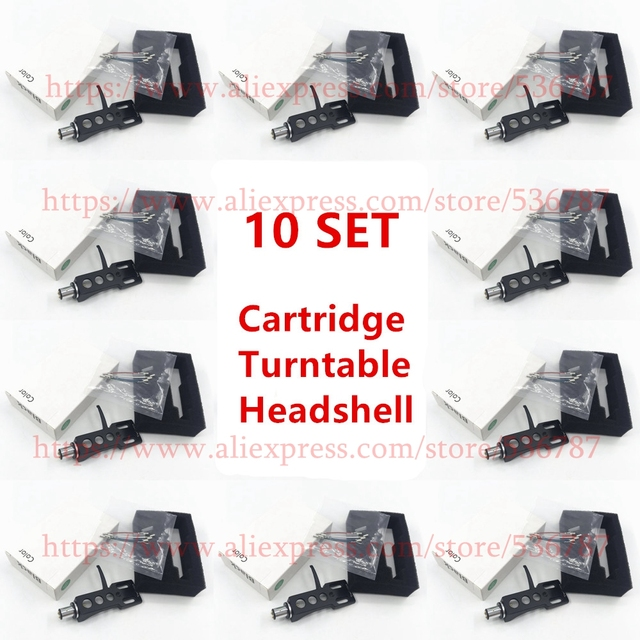 good quality 10 SETS/lot Turntable Headshell 4 Pin Contacts  For Technics For Other Turntables Fit Phono Turntables Headshells