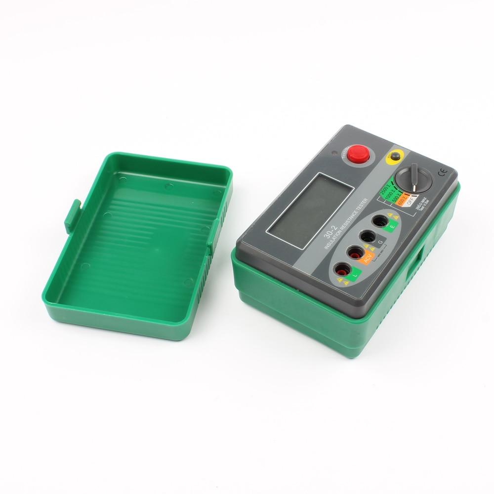 цены DY30-2 2500V 20G ohm Digital Insulation Resistance Tester / Megger / Megohmmeter tester meter