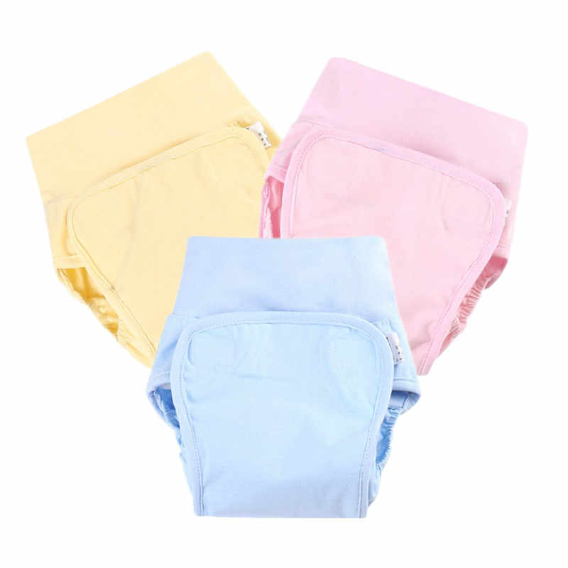 Cute Cotton Baby Diapers Reusable Cloth Diaper Nappies Washable Infant Children Baby Diaper Pocket Cover Panties For Winter