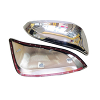 Rear View Side Door Mirror Cover Decorative Trim For Toyota Harrier XU60 2013 2017