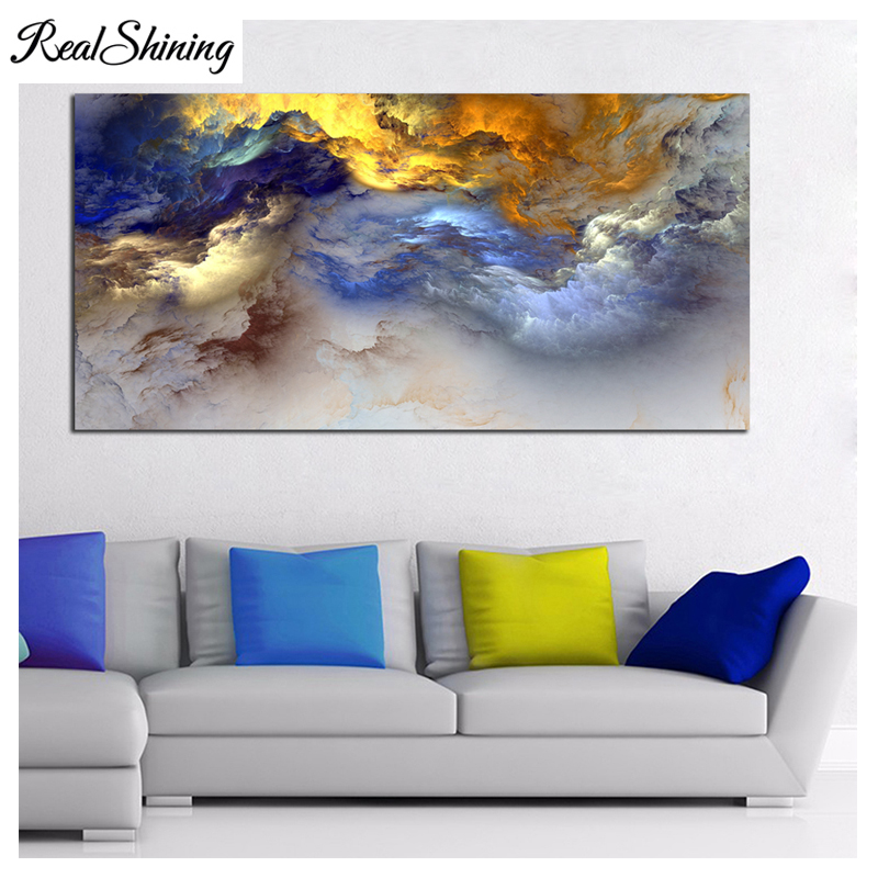 Modern Home Decoration 5D Diamond Embroidery Abstract Colorful Clouds Large diy Diamond Painting mosaic pastes Wall Art FS3321Modern Home Decoration 5D Diamond Embroidery Abstract Colorful Clouds Large diy Diamond Painting mosaic pastes Wall Art FS3321