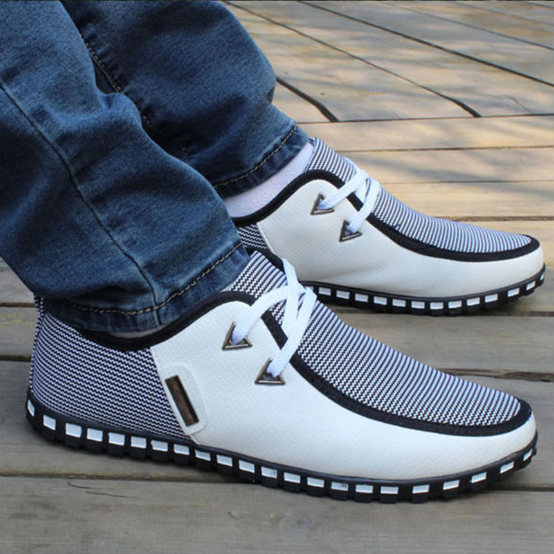 Casual Shoes Men 2016 New Fashion Pu Men Shoes In Men 39 S Casual Shoes From Shoes On Aliexpress