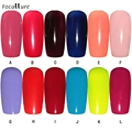 Beauty Girl Fashion Nail Gel Polish UV LED Shining Colorful 12 Colors 5ML Oct 18