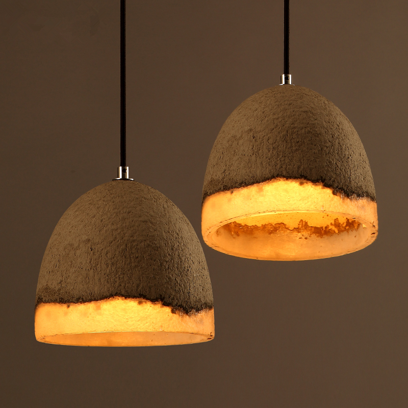 Modern Pendant Lamp Cement Resin Northern Europe American Vintage Retro Country Industrial Lights Fixtures Dining Living Room industrial chandeliers ancient magic beans chandelier dining room sitting room art pendant lamp northern europe
