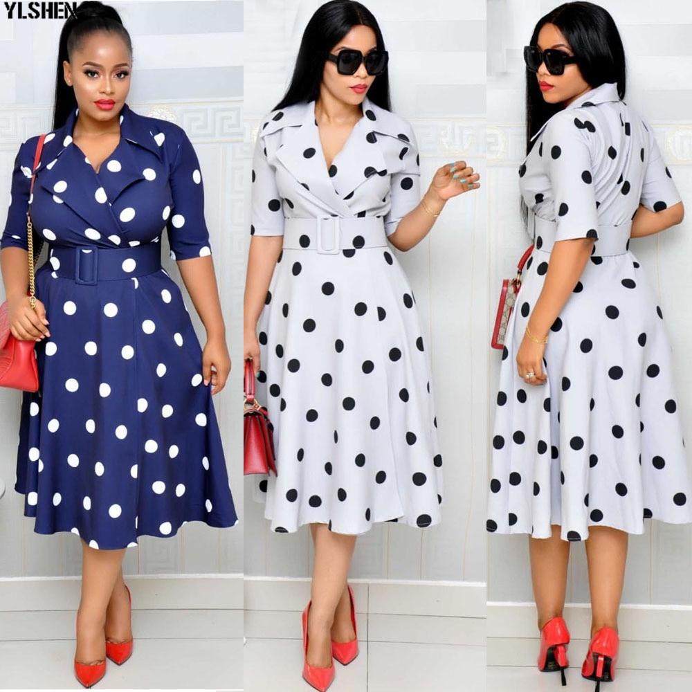 African Dresses For Women Print Dashiki African Clothes Bazin Riche Africa Ankara Dress Fashion Elegant Ladies African Clothing