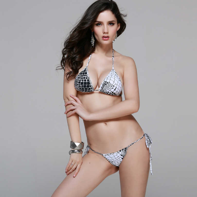a41ebf12d8 Sexy Micro Bikini Swimwear Mini Bottom Women Swimsuit 2018 Bathing Suit Brazilian  String Thong Bikini Set