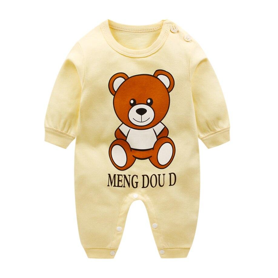 a384bf648 Detalle Comentarios Preguntas sobre Vestido de bebé recién nacido ropa de bebé  niña mono de algodón bebé niño mameluco de manga larga ropa de bebé recién  ...