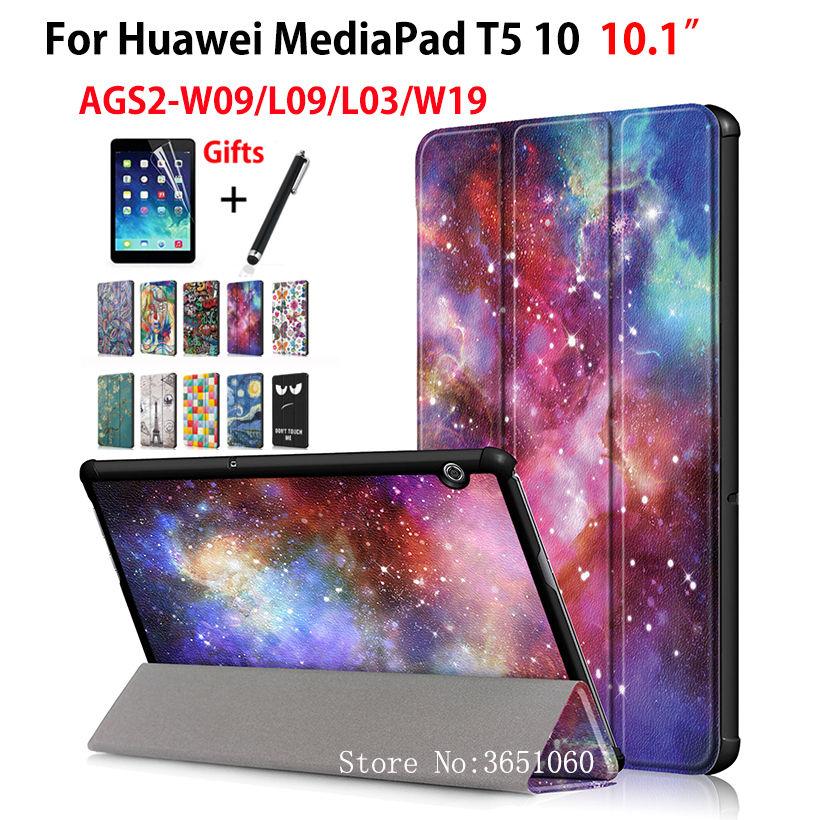 Magnetic Case For Huawei Mediapad T5 AGS2-W09/L09/L03/W19 10.1